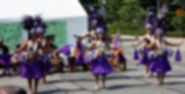 Optreden van eerste dansgroep tijdens Pacifikus Festival 2015