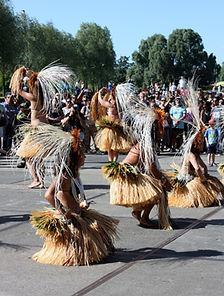 Performance by dance group, Pacifikus festival 2015