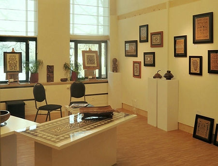 Overview of Galerie Caroline pop-up The Hague