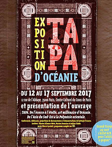 Flyer van Tapa evenement aan de Rue de L'Abbaye in Parijs, September 2017