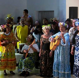 Welcome performance by Marquesan delegation, MataHoata, Paris, 11 April 2016