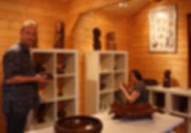 Antoine Vanhemelrijk en Caroline van Santen, Galerie Caroline