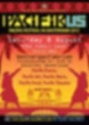 Affiche du Festival Pacifikus 2015