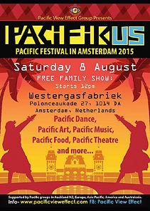 Pacifikus Festival poster 2015