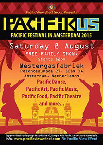 Pacifikus festival poster