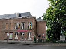Les bâtiments de la Faculté pour l'Étude Comparéedes Religions et l'Humanisme à Wilrijk, Belgique