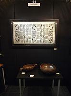 Detail of stand Galerie Caroline, EAF, Deventer, October 2015