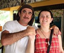 Eugene O'Connor en Caroline van Santen, Atuona - Hiva Oa