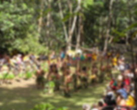 Dansgroep van Ua Huka op Kamuihei, Hatiheu - Nuku Hiva
