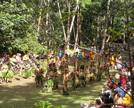 Dance Group from Ua Huka at Kamuihei, Hatiheu - Nuku Hiva