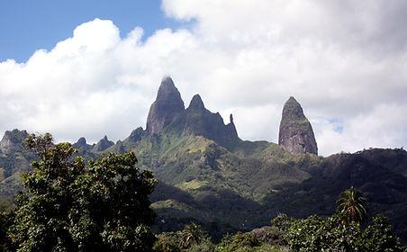 Hauts sommets d'origine volcanique - Ua Pou