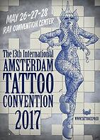 Poster - beeld van Amsterdam Tattoo Convention 2017