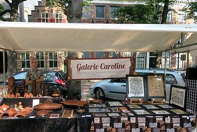 Stand of Galerie Caroline at Haagsche Kunst- en Antiekdagen, The Hague, 27 August 2016