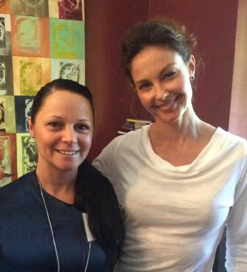 Timea and Ashley Judd