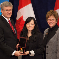 Prime Minister and Timea 2012 December 1