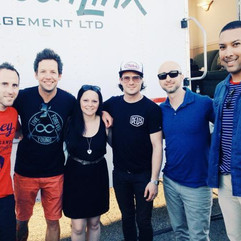 Timea and Simple Plan