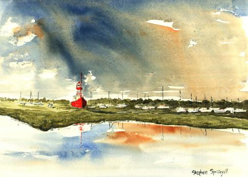 Red Lightship Tollesbury