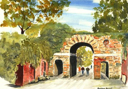Ruined Arch, Kew Gardens