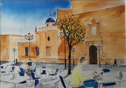 Cafe, Elche, Spain