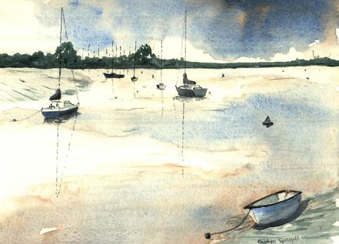 Low tide at Maldon
