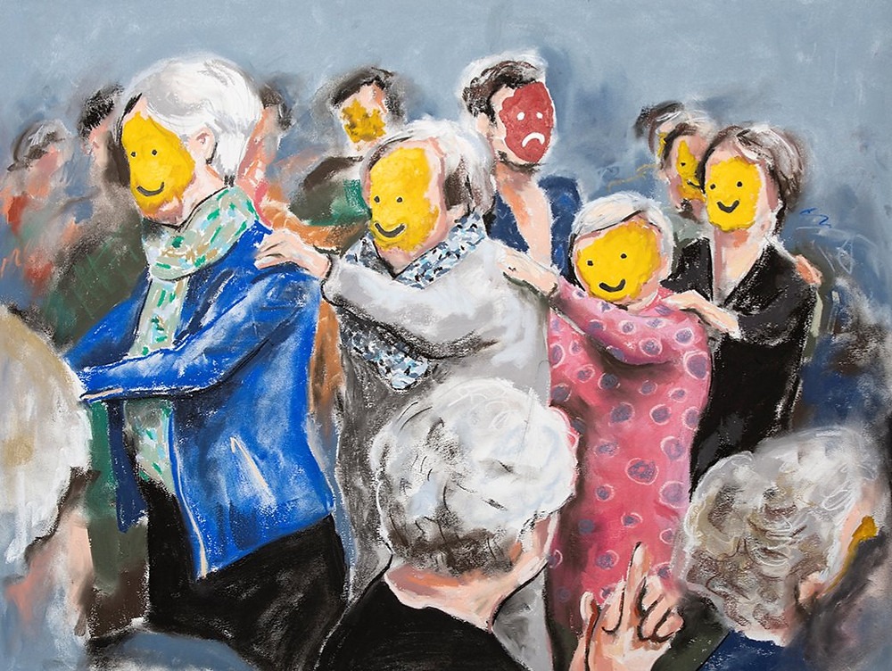 polonaise, smiley art, smiley kunst, hedendaagse kunst, apeldoorn, dutch artist, sociology