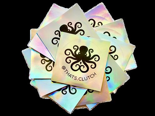 Clutch Sticker Pack