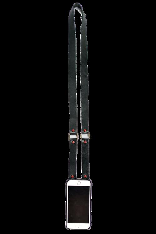 Black & Red Original Clutch Strap