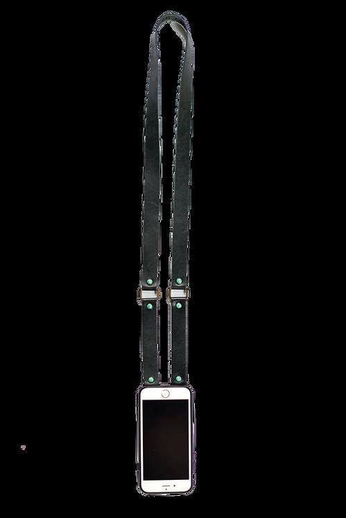 Black & Turquoise Original Clutch Strap
