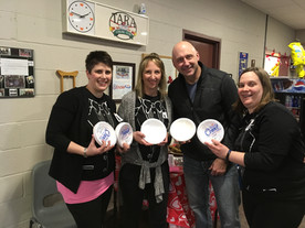 """""""Thankful for the opportunity and glad I could help out at the Tara Curling Club Ladies' Bonspiel.""""  Alex Ruff."""