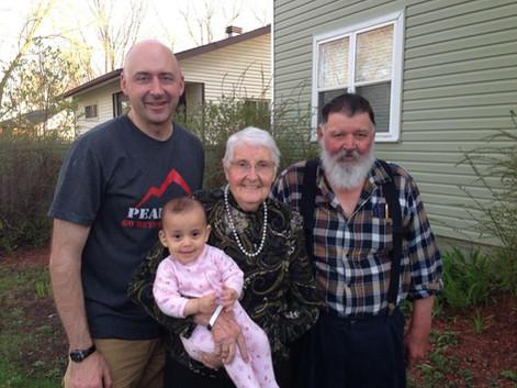 Alex Ruff and family.