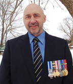 Retired bilingual infantry Colonel in The Royal Canadian Regiment (The RCR) after more than 25 years of service. Alex Ruff.