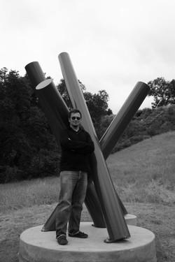 Paso Sticks Sculpture with Esmoreit