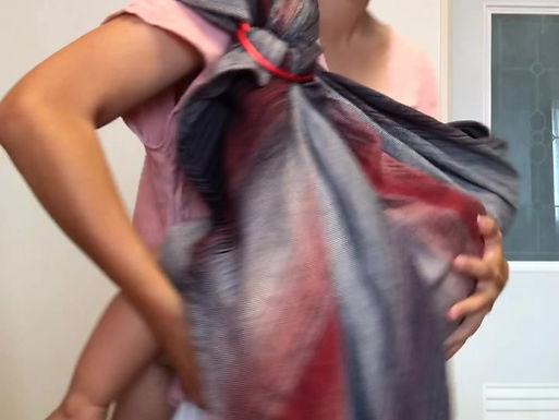 雙環單肩 揹法轉換分享