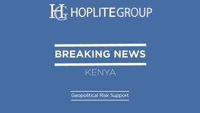 Kenya Security Update