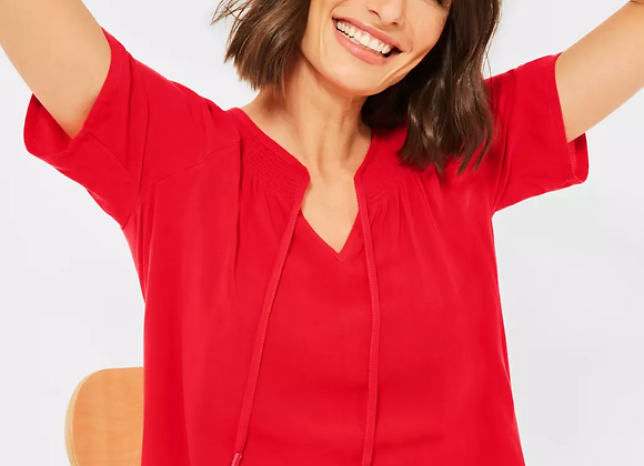 Blouse-T-Shirt van Cecil in poppy red