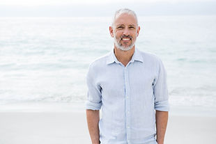 Bearded Man At Beach From Robert T Love, M.D. | Gynecomastia In Little Rock