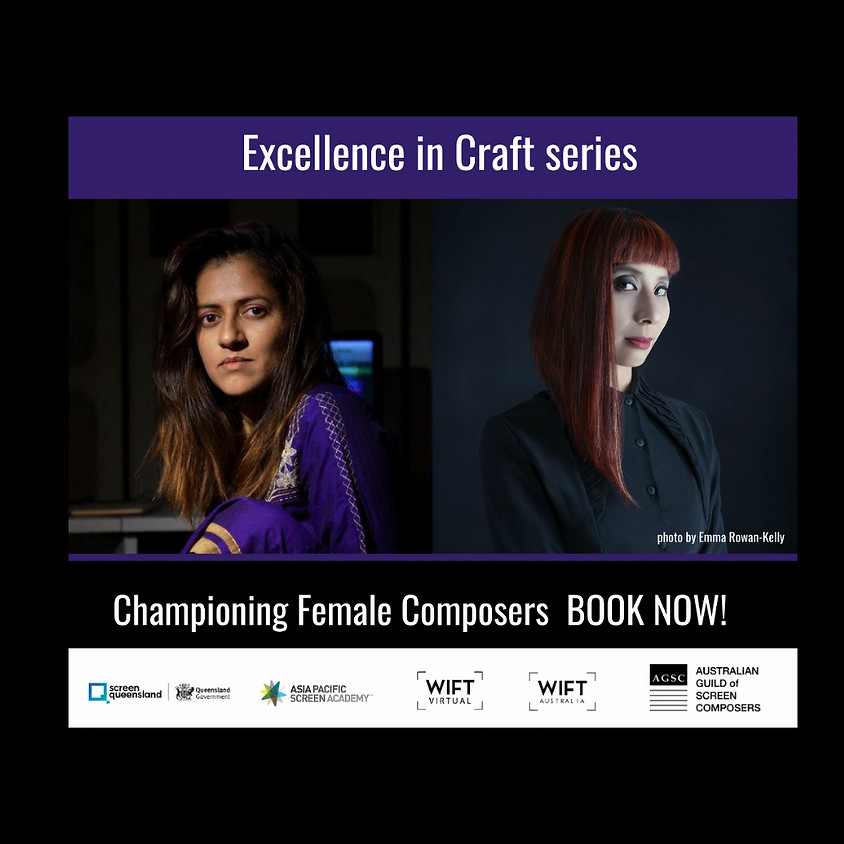 Excellence in Craft: Championing Female Composers - Masterclass with Sneha Khanwalkar