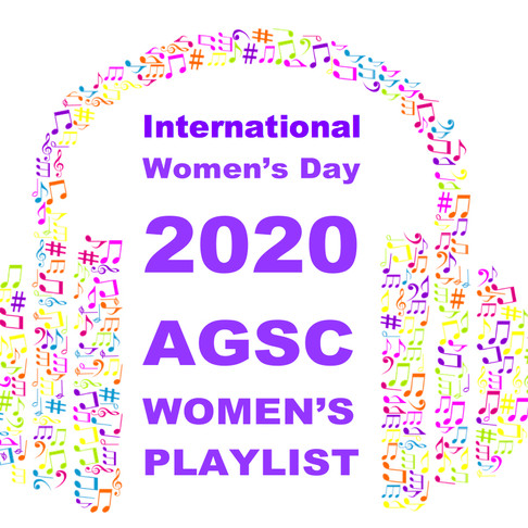 Listen to our IWD 2020 Playlist!
