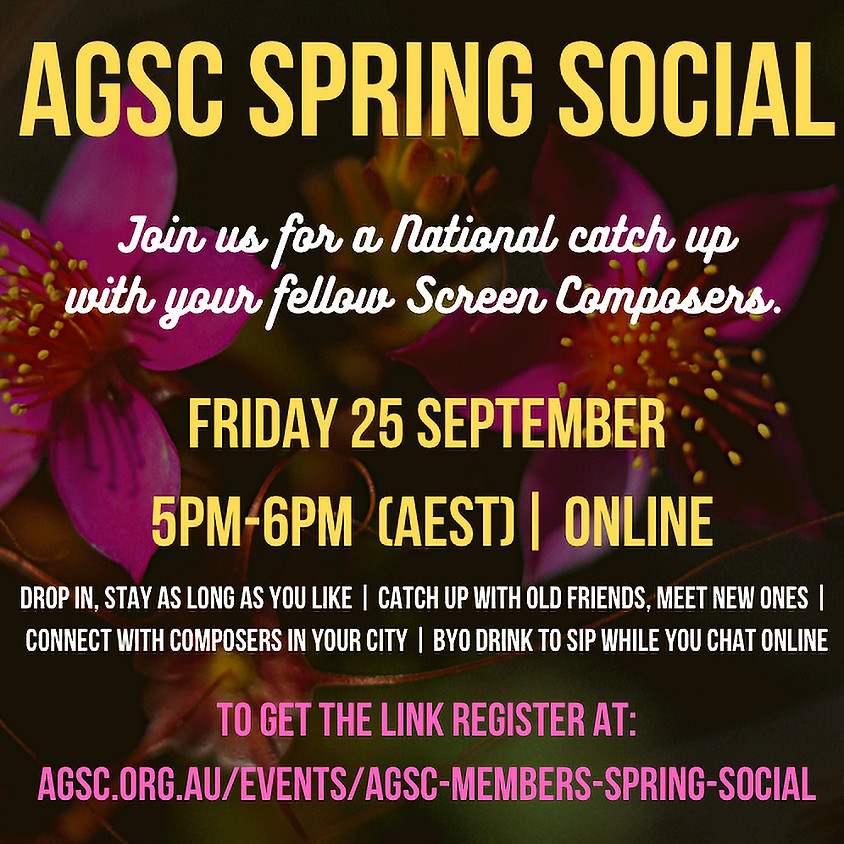 AGSC Members Spring Social
