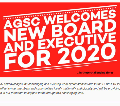 AGSC Welcomes New Board: Covid-19 Update