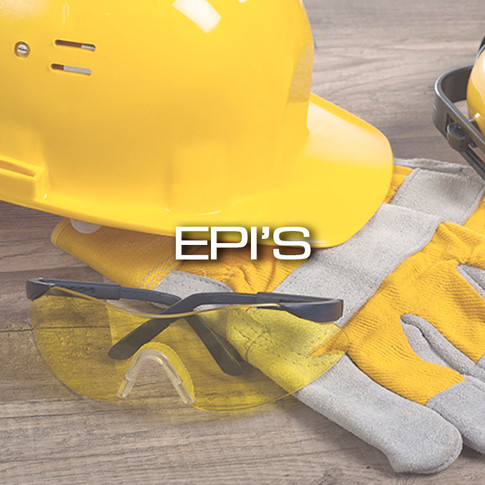 Equipamentos de Proteção Individual epis