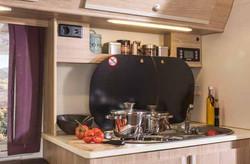 Espace de cuisine très complet