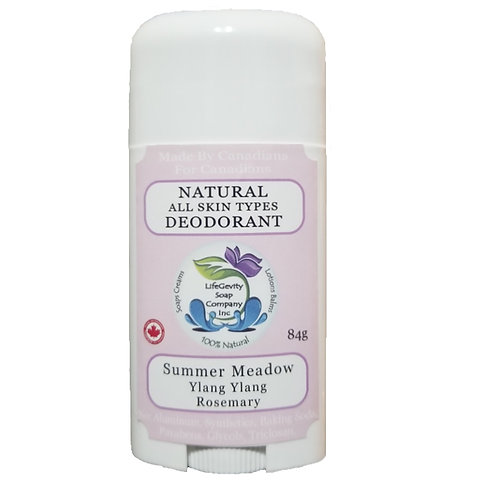 Summer Meadow Natural Deodorant 84g