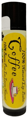 VEGAN Coffee Organic Lip Balm (4.25 g)