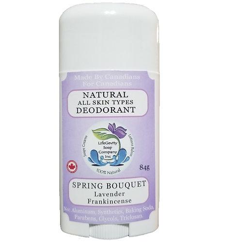 Spring Bouquet Natural Deodorant 84g