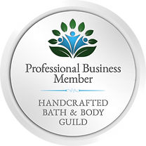 Member badge for the Handcrafted Bath and Body Guild