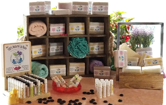 Picture of our product line. LifeGevity Soaps.