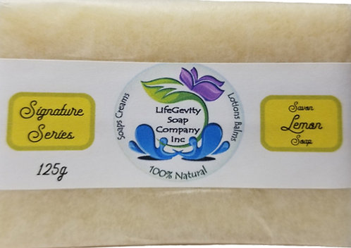 Lemon Organic Soap