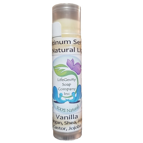 Vanilla Organic Platinum Lip Balm 4.25 g