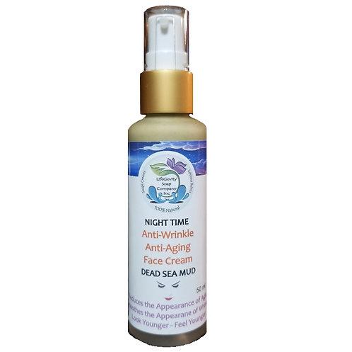 Night Time Anti-Aging Anti-Wrinkle Face Cream 50ml
